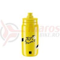 Bidon Elite Fly Tour De France Iconic Yellow 550ml