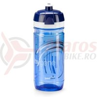 Bidon Elite hygene corsa 550ml clear blue