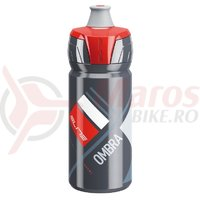 Bidon Elite Ombra 550 ml gri/rosu