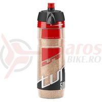 Bidon Elite Turacio 500 ml logo red