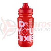 Bidon Force Bike 0.5L rosu