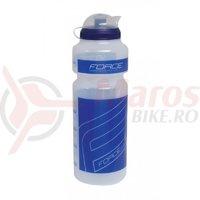 Bidon Force F 0.75l transparent/albastru