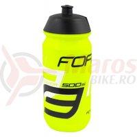 Bidon Force Savior 0.5l fluo/negru/alb
