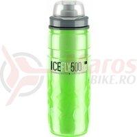 Bidon Plastic ELITE ICE FLY 500 ml Verde