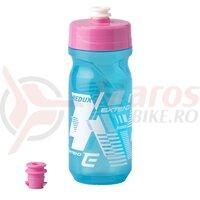 Bidon Plastic EXTEND Redux 600 ml Albastru/Roz