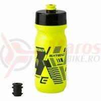 Bidon plastic Extend Redux 600 ml galben/negru