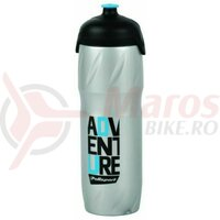 Bidon- Polisport adventure' - 500 ml, thermal 4h, argintiu