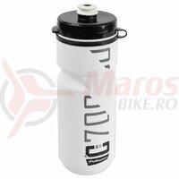 Bidonas - POLISPORT - C700 - 700 ml, alb/negru