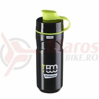 Bidonas - POLISPORT ''T500'' - 500 ml, thermal 4h, negru/verde flou.