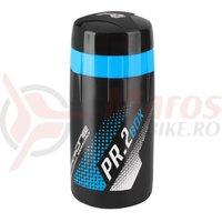 Bidonas Raceone PR1 pentru scule 600ml, negru logo albastru/alb
