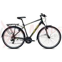 Bicicleta Devron Urbio T1.8 acid black 2017