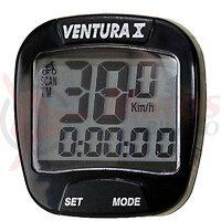 Bike Computer 10 functii Ventura negru