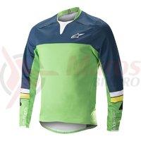 Bluza Alpinestars Drop Pro L/S Jersey poseidon blue/summer green