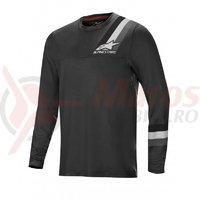 Bluza Alpinestars Alps LS Jersey 4.0 melange/dark grey/black