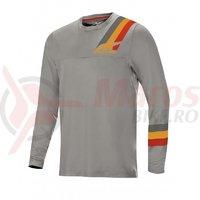 Bluza Alpinestars Alps LS Jersey 4.0 Melange grey/red Ochre
