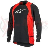 Bluza Alpinestars Drop 2 long Sleeve Jersey black/red