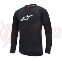 Bluza Alpinestars Drop 2 long Sleeve Jersey black/white