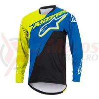 Bluza Alpinestars Sight Contender Long Sleeve Jersey royal blue/acid yellow