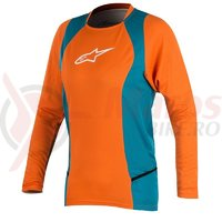 Bluza Alpinestars Stella Drop 2 L/S Jersey bright orange/ocean