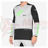 Bluza ciclism 100% R-CORE X, Vapor/Black