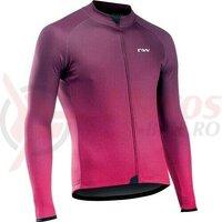 Bluza ciclism Blade 3 long, plum