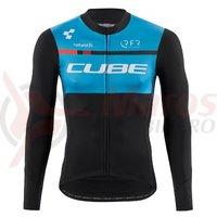 Bluza ciclism Cube Teamline black´n´blue´n´white