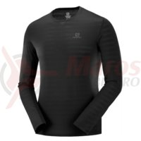 Bluza corp Salomon XA LS black barbati
