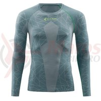 Bluza De Corp Cube Race Be Cool L/S Grey/Green