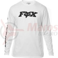 Bluza Fox Race Team LS Tee opt white