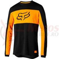 Bluza Fox Ranger DR Foxhead LS jersey black