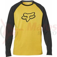 Bluza Fox Tournament Ls Tech Tee [Mustard]
