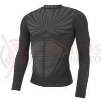 Bluza functionala Force Thunder cu maneci lungi neagra