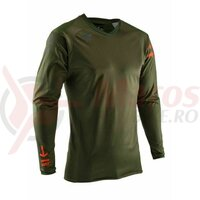 Bluza Jersey Dbx 5.0 All-Mountain Forest