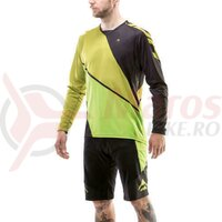 Bluza Merida maneca lunga Freeride Triangle verde