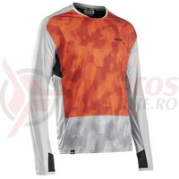 Bluza Northwave Edge, Dove Gray/Orange