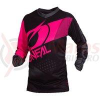 Bluza O'Neal Element Factor, feminin, negru/roz