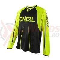 Bluza O'Neal Element FR Blocker negru/galben neon