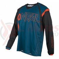 Bluza O'Neal Element Fr Hybrid - Petrol/Portocaliu