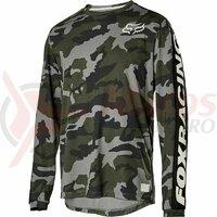 Bluza Ranger DR LS Fox jersey [grn cam]