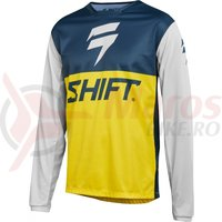 Bluza Shift Whit3 Label GP LE jersey nvy/ylw