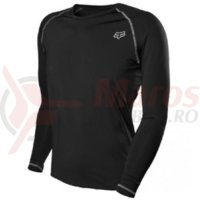 Bluze Fox MX-Jersey First Layer L/S Jersey black