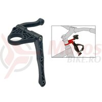 Bottle cage Adapter Additive One+One for A-head spacer int.,w.light adapt.