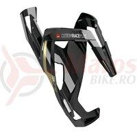 Suport bidon Elite Custom Race Plus black gloss/gold