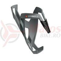 Suport bidon Elite Custom Race Plus Skin, grey soft touch