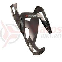 Suport bidon Elite Custom Race Plus titanium/black