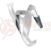 Suport bidon Elite Custom Race Plus white gloss/black