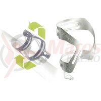 Suport bidon T-One Anyway Alu ajustabila angles, silver anodized