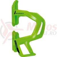 Suport bidon T-One Upndown plastic height-adjustable, lime green