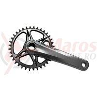 Brate pedalier Shimano XTR FC-M9100-1 fara foaie brat 175mm 11/12 v hollowtech 2 fara BB