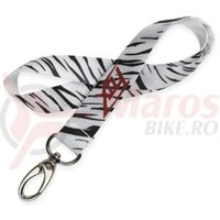Breloc Fox Strung Out Shorty lanyard